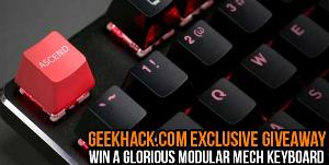 Win a Glorious Modular Mechanical Keyboard (with Brown Switches)