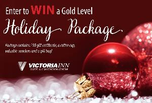 Win a Gold Level Holiday Package from Victoria Inn