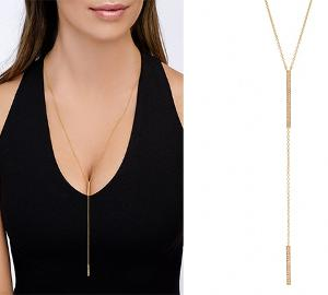 Win a Gold Necklace from Sugar Bean Jewelry!!!