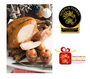 Win a Golden Turkey for Christmas!