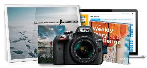 Win a Grand Prize of Nikon D3300 with 18-55mm lens and/or Weekly Prizes