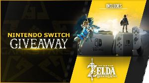 Win a Grey Nintendo Switch and Zelda BOTW