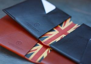 WIN a handmade leather Origami wallet from Bond & Knight!
