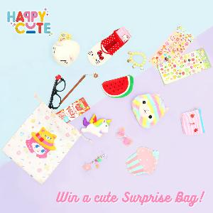 Win a Happy Cute Surprise Bag!