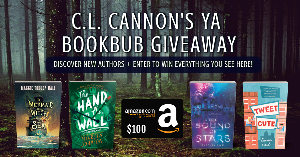 Win a hardback copy of The Mermaid The Witch and the Sea by Maggie Tokuda-Hall, The Hand on the Wall by Maureen Johnson, The Sound of Stars by Alechia Dow, Tweet Cute by Emma Lord, and a $100 Amazon gift card!