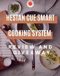 Win a Heston Cue Smart Cooking System Giveaway (value $399.00)!