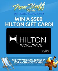 Contest: Win a Hilton Gift Card