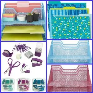 Win a Home Paperwork Organization Station! (Winner will have choice of color design or $50 in Amazon or PayPal as  prize fulfillment)