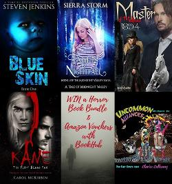 Win a Horror Book Bundle & Amazon Vouchers with BookHub!!