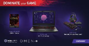 Win a HP Omen X Gaming Laptop or other prizes