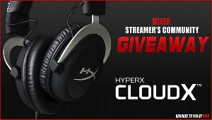 Win a HyperX CloudX Xbox Gaming Headset