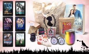 Win A Jane Austen Tote Bag, Four Chocolate Donut Soaps, A Pair of Cherry Pie Socks, A Bookshop Dweller Candle, A Library Explorer Candle, A Jane Austen Cameo necklace, A Rainbow Tumbler , Citrus Orchid Scented Bath Salts...+ so much more...!!