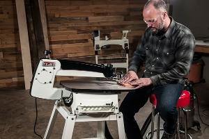 "Win a JET 22"" Scroll Saw"