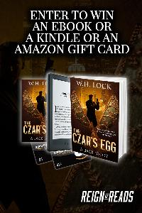 Win a Kindle eInk, up to $10 Amazon Gift Card or eBooks from Author W.H. Lock
