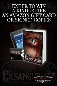 Win a Kindle Fire, a $25 Amazon Gift Card or Signed Paperbacks