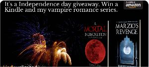 Win a Kindle Fire & A vampire Romance Series of EBooks!