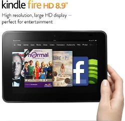 win a Kindle Fire HD and books