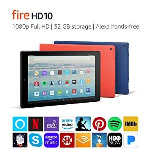 Win a Kindle Fire HD10 tablet