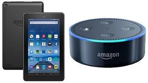 Win a Kindle Fire or Echo Dot