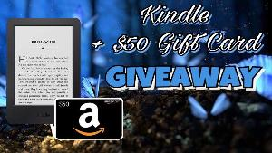 Win a Kindle Paperwhite and $50 Amazon GC