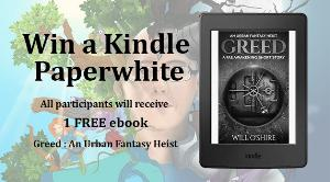 Win a Kindle Paperwhite - Everyone gets a FREE ebook