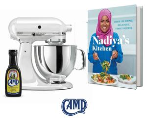 Win a KitchenAid Mixer, book and Camp Coffee!