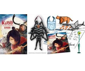 Win a KUBO AND THE TWO STRINGS movie merchandise pack!!