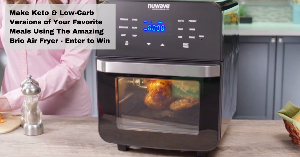 Win a Large NuWave Air Fryer