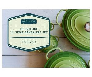 Win a Le Creuset 10-Piece Bakeware Set