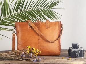 Win A Leather shoulder bag for women