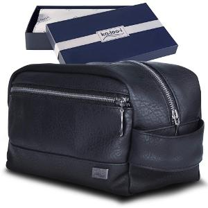 Win A Leather Travel Toiletry Bag!