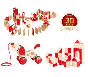 Win a Limited Edition Collection of Hape's toys!