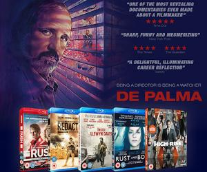 Win a limited edition poster and acclaimed directors Blu-ray bundle with DE PALMA !