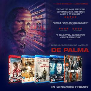Win a limited edition poster and acclaimed directors Blu-ray bundle with DE PALMA !!