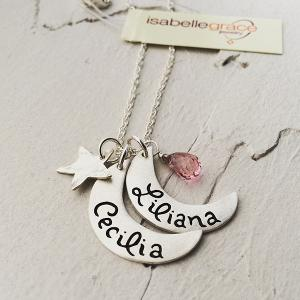 WIN: a Little Moon Tag Necklace