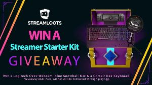Win a Logitech c920 Webcam, Blue Snowball Mic & CorsairK55 Keyboard!