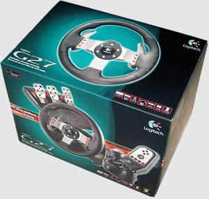 Win a Logitech G27 Racing Wheel