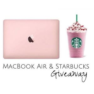 WIN A MACBOOK AIR & $100 TO STARBUCKS