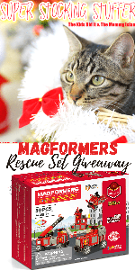 Win a Magformers Rescue Set!!