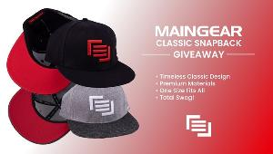 WIN A MAINGEAR CLASSIC SNAPBACK IN YOUR CHOICE OF COLOUR!