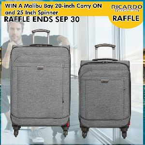WIN: A Malibu Bay 20-inch Carry ON and 25 Inch Spinner