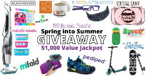 Win a massive prize pack including one Black+Decker Steam N'Vac Steam Mop + Vacuum Combo, valued at $230, $100 credit to DiscountGlasses.com ..+ so much more...!