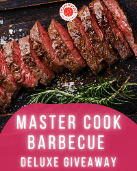 Win a Master Cook Barbecue !