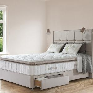Win a mattress, bed base and headboard worth up to £4,000 from Sealy!