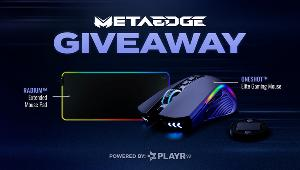 Win a MetaEdge Bundle! (Gaming Mouse + RGB Mouse Pad)!!