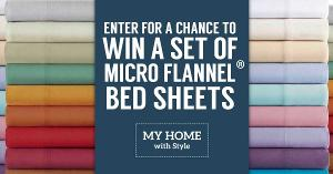 Win a Micro Flannel Sheet Set