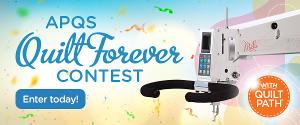 Win a Millie WITH Quilt Path! Enter the APQS Quilt Forever Contest!