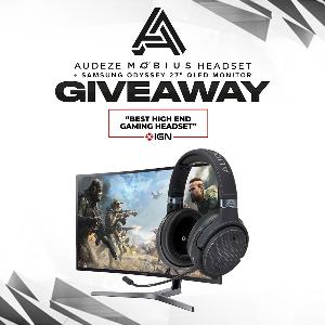 """Win a Mobius Headset and a Samsung 27"""" QLED Monitor!"""