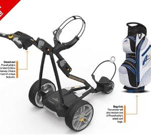 WIN a 'money can't buy' Powakaddy Package!