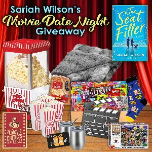 Win a movie date night prize pack including a $25 Amazon gift card, a movie film clap board, a 4-pack of plastic popcorn containers, a tabletop popcorn maker and gourmet popcorn kernels, a movie candy snack box, a movie critic's notebook...+more!..